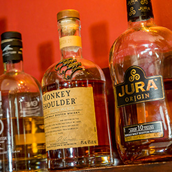 Fine malt whisky collection